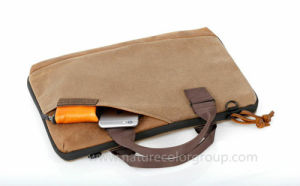 Vintage Canvas Laptop Sleeve Bag pictures & photos