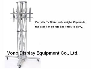 Exhibition Truss TV Stand Display with Two Plasma or LCD Television Stand pictures & photos