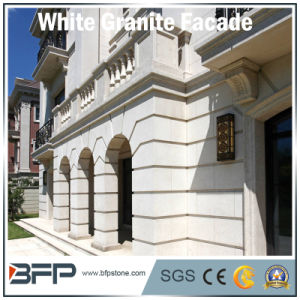 Chinese Polished Granite Facade Tile for Exterior Wall/Floor in White Color pictures & photos