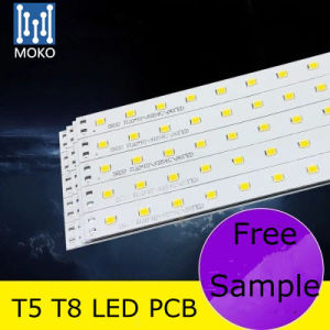 0.6m 48PCS 9W 2835SMD T8 Strip PCB with Ce Certification pictures & photos