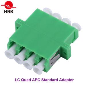 LC Quad Singlemode APC Standard Fiber Optic Adapter pictures & photos