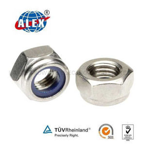 Railway Nylon Insert Locking Nut pictures & photos