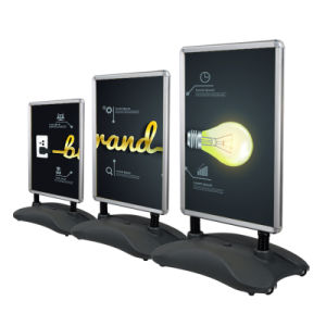 Water Base Display Stand Snap Frame Poster Stand Water Base Sign Stand pictures & photos