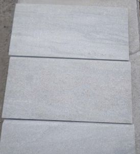 Popular Golden White Quartzite Tile for Flooring with Factory Price pictures & photos