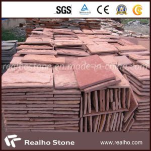 Nature Red Sandstone for Wall Cladding Tile