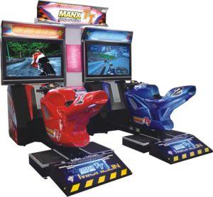 Crazy and Stimulating Arcade Game Machine Tt Moto pictures & photos