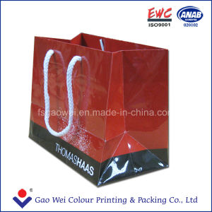 2016 Fancy Printed Recycled Shopping Carry Bag, Paper Bag Printing, Carrier Bag with Handle pictures & photos