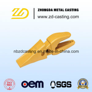 OEM Bucket Tooth Machining Investment Casting pictures & photos