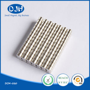 D4*3mm Rare Earth Sintered Cylinder Neodymium Iron Boron Magnet pictures & photos