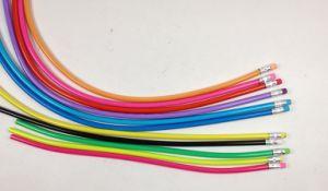 Bendy Twist Pencil, Soft PVC Pencil, Flexible PVC Pencil for Promotion pictures & photos