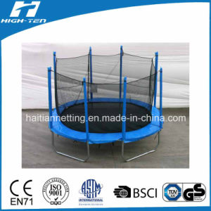 Oval Shape Big Trampoline with Enclosure pictures & photos
