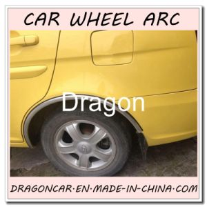 All Sorts of Car Fit Car Wheel Eyebrow Guard Chrome Trim pictures & photos
