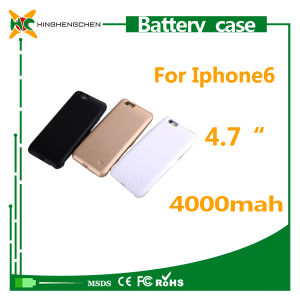 Wholesale Mobile Phone Charger for iPhone 6 External Battery Case pictures & photos