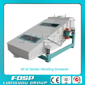 China Top Quality 6-10t/H Vibrating Screening Machine for Fish Feed pictures & photos