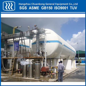 Horizontal Cryogenic Storage Tank Vacuum Powder Insulated pictures & photos