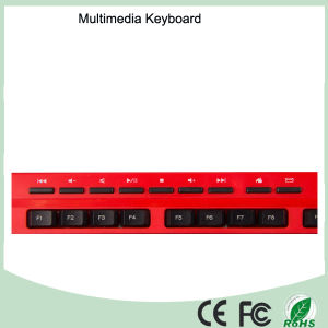 Cheap Ergonomic Design Waterproof Wired Office Computer Keyboards (KB-1802M) pictures & photos