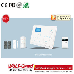 Dual Network GSM PSTN Cid Home Alarm System for Home Security pictures & photos