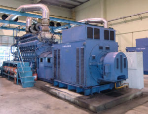 Diesel/Gas Generator Electricity Power Station pictures & photos