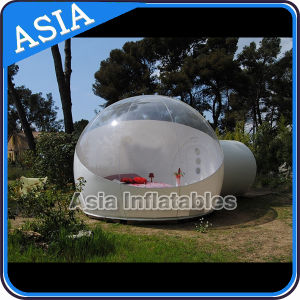Outdoor Camping Clear Inflatable Bubble Tent with Tunnel pictures & photos