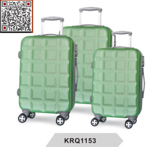 ABS Hard Shell Plastic Travel Trolley Luggage Suitcase pictures & photos