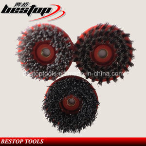 Round Diamond Brush with M14 Connection for Stone pictures & photos