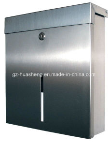 Indoor or Outdoor Stainless Steel Mailbox (HS-MB-013) pictures & photos