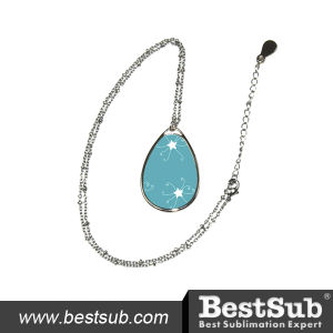 Bestsub Oval Sublimation Necklace 01 (XL04) pictures & photos