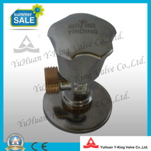 Forged Brass Angle Valve with Yelllow Color Thread (YD-I5021) pictures & photos