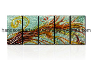 Colorful Aluminum Painting with Velvet Backage for Home Decor (CHB601504) pictures & photos