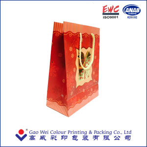 Printing Customized Paper Christmas Gift Bag pictures & photos