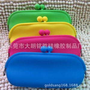 Hot Sell Colorful Silicone Purse/Silicone Glasses Box/Silicone Bag Case pictures & photos