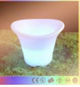Plastic LED Ice Drink Bucket Flash Champagne Beer Flash Light up Bar Bucket pictures & photos