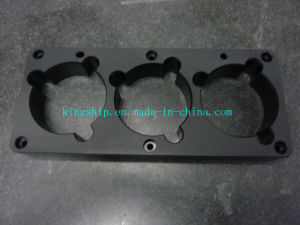 CNC Machining Hard Anodizing Black Parts (NO. 0153) pictures & photos