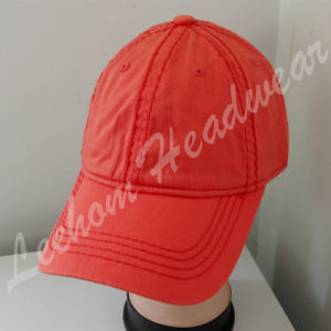 (LPM15171) Promotional Sport Wholesale Baseball Red Cap pictures & photos