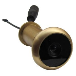 13.8mm Diameter Brass Material 90deg 5.8g Wireless Door Eye Peephole Camera for Home Security System pictures & photos