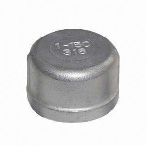 Stainless Steel Threaded Fittings Series Round Cap pictures & photos