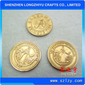 Newest Cheap Challenge Silver Round Shaped Metal Coin for Sale pictures & photos