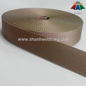 High Tenacity 38mm Khaki Flat Nylon Webbing pictures & photos