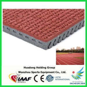 13mm Outdoor Prefabricated EPDM Running Track Rubber Matting Roll pictures & photos