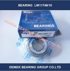 Original Koyo Inch Taper Roller Bearing Lm11749/10 Made in Japan pictures & photos