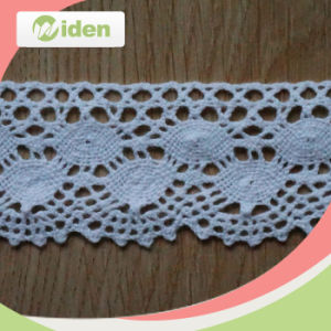 China Manufacturer Cotton Swiss Guipure 5.2cm Lace pictures & photos