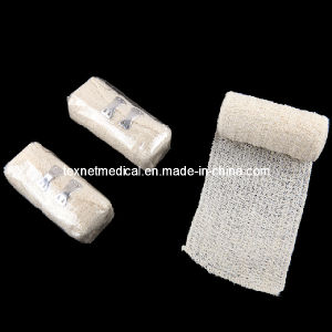 Cotton Skin Color Elastic Crepe Bandage for Wound Dressing pictures & photos