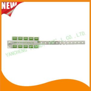 Entertainment 10 Tab Vinyl Plastic Wristbands ID Bracelet (E6070-10-6) pictures & photos