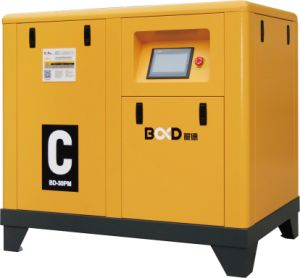 Variable Speed Driven Screw Air Compressor with Pm Motor pictures & photos
