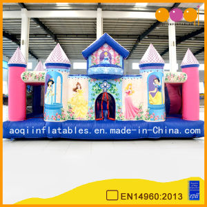 Beautiful Inflatable Princess Jumping Castle for Birthday Party (AQ576) pictures & photos