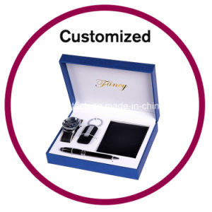 Promotion Notebook and Pen Business Gift Set pictures & photos