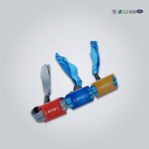 Passive RFID Wristband for Access Control pictures & photos