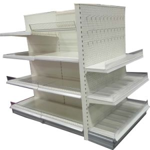 Double Sided Supermarket Gondola Shelf pictures & photos