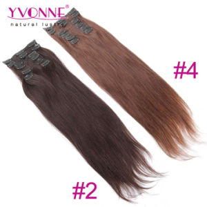 Hot Sale 100% Human Hair Clip in Hair Extension pictures & photos