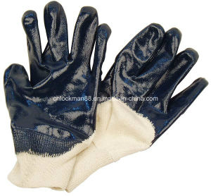 Working Leather Gloves with CE Approval (SQ-015) pictures & photos